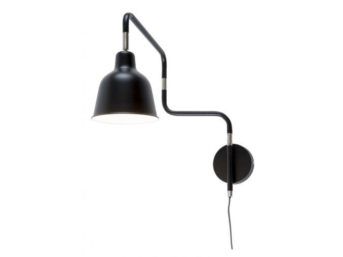 Nástěnná lampa London černá