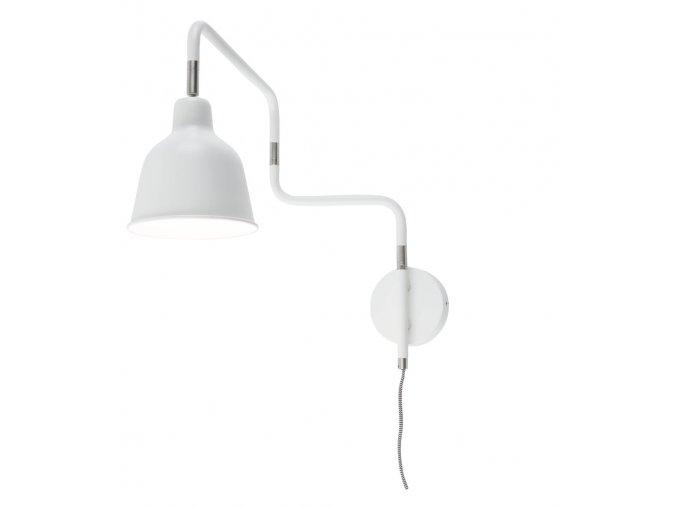 Nástěnná lampa London bílá