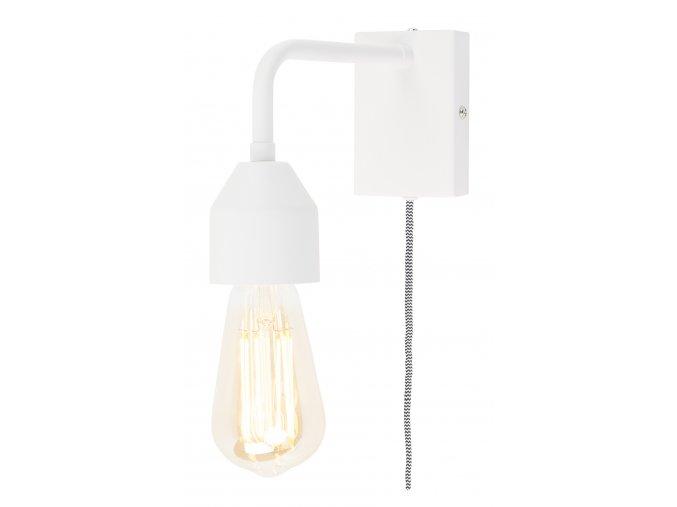 Nástěnná lampa Madrid bílá