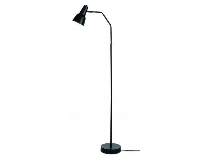 Stojací lampa Valencia černá