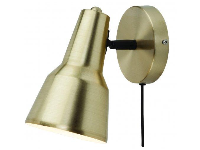 Nástěnná lampa Valencia zlatá