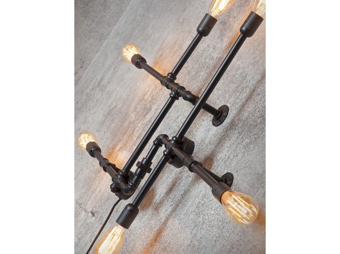 Nástěnná lampa Nashville černá 1