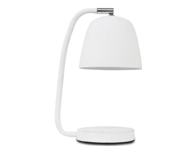 Stolní lampa Newport bílá