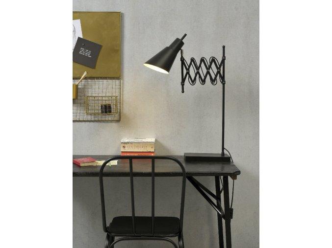 Stolní lampa Oxford černá