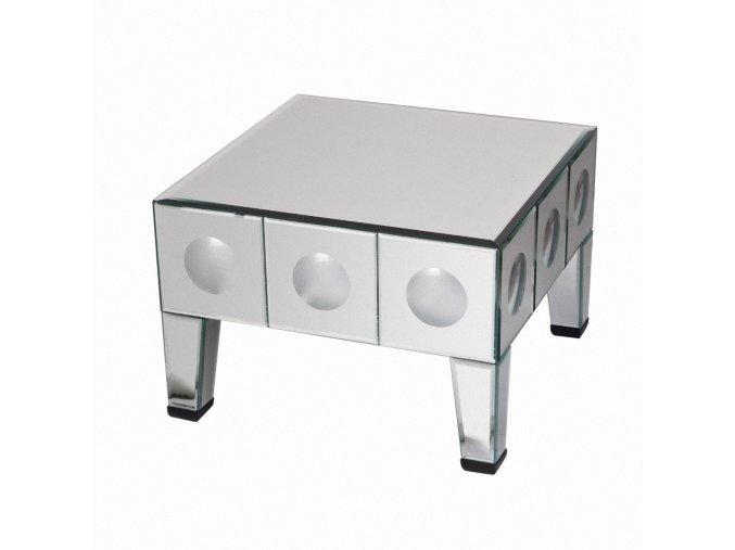 Zrcadlový odkládací stolek