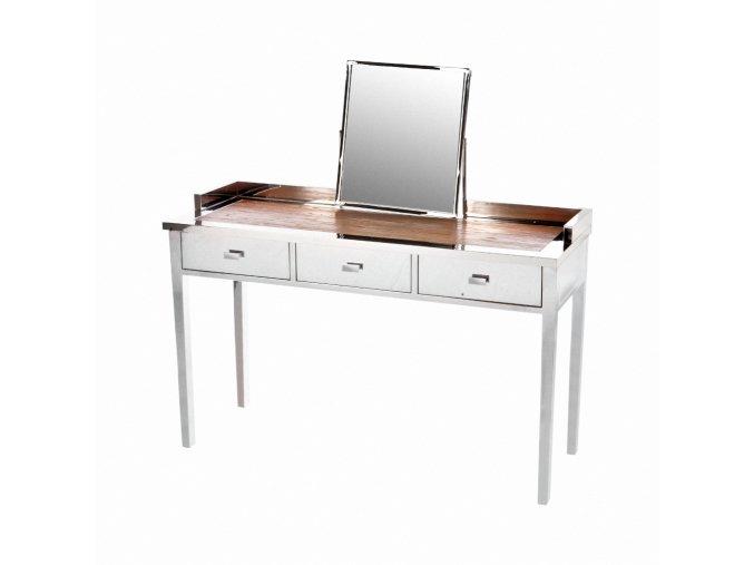 Nerezový kosmetický stolek