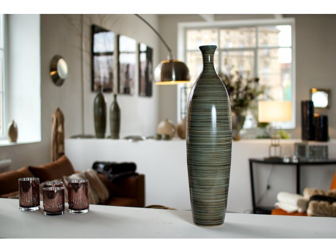 Váza Stripes H63