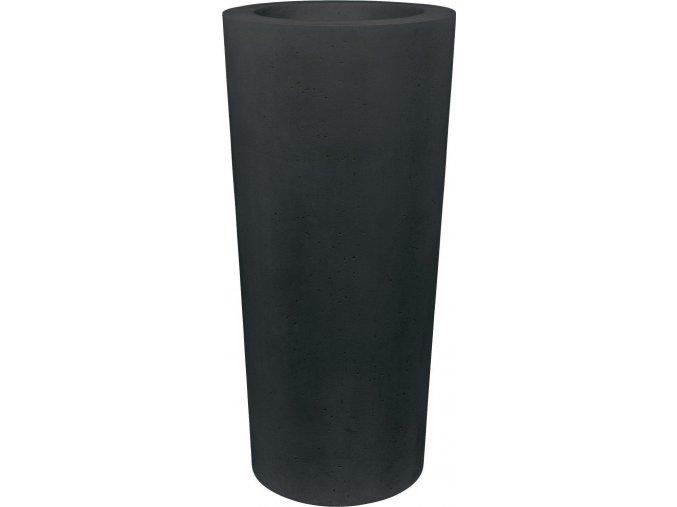 Conical květináč Anthracite