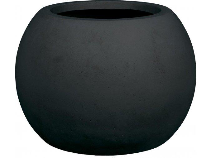 21031 polystone globe pflanzkugel anthrazit 001