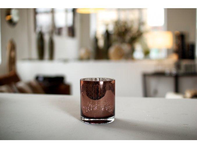 Svícen na čajové svíčky H10
