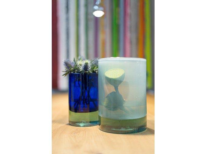 Luxo Color váza Ice-blue