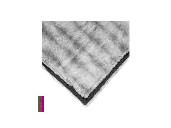 Pléd SIA 130x170 - šedostříbrný