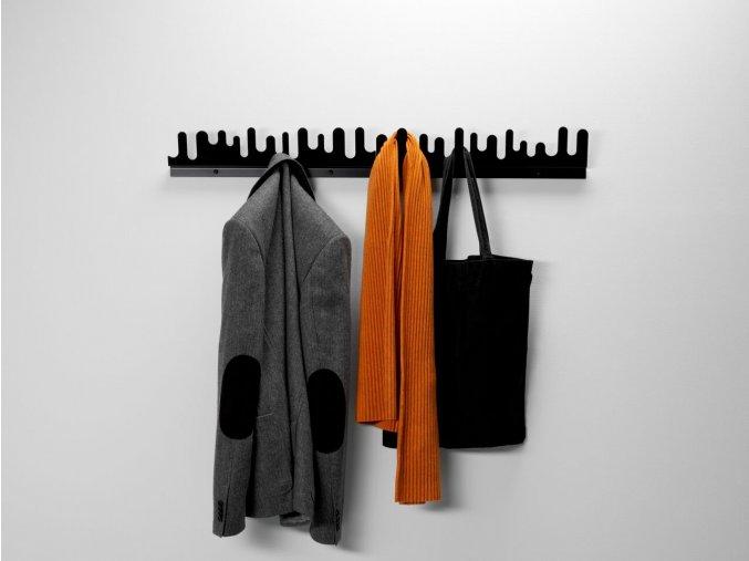 Wave black clothes