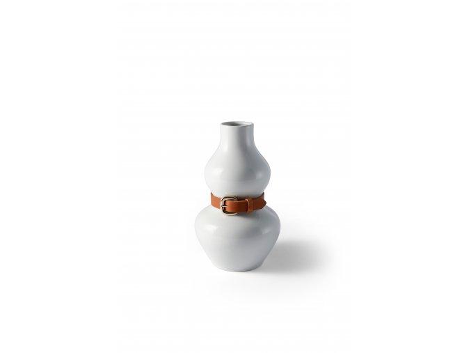 Alba vase white iso