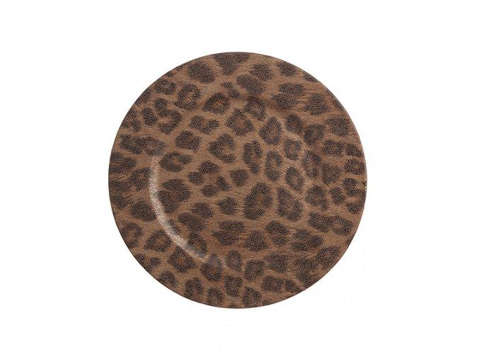 Prostírání Leopard kulaté