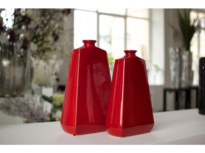 Váza Dôme Deco Red