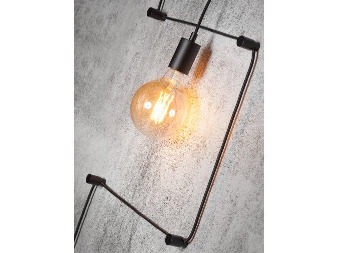 Nástěnná lampa Oslo černá