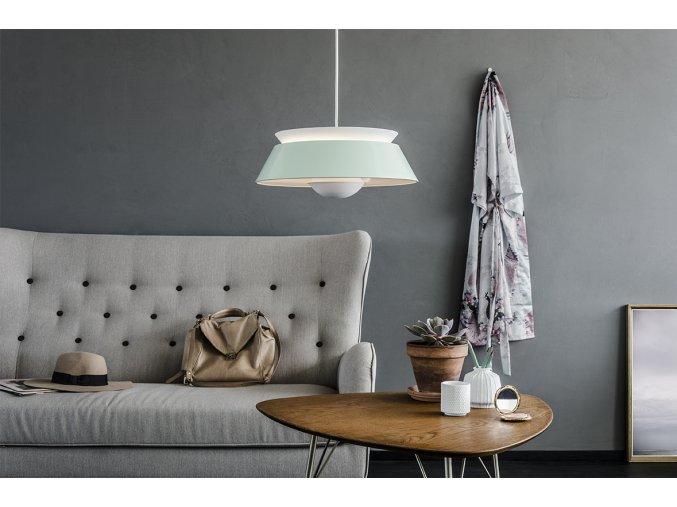 2036 Cuna mint green white cord sofa environment