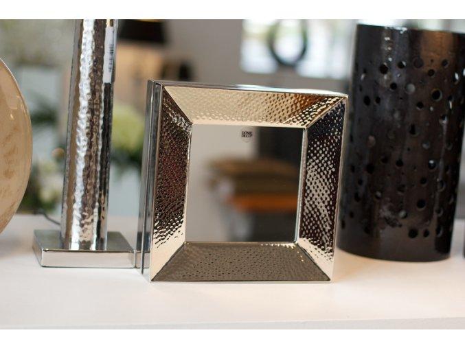 Tepané zrcadlo čtvercové 25x25cm