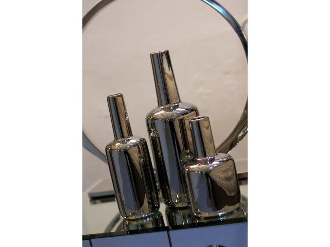 Stříbrná Váza Dôme Deco