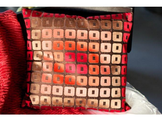 Polštář Dôme Deco 45x45 vyšívaný