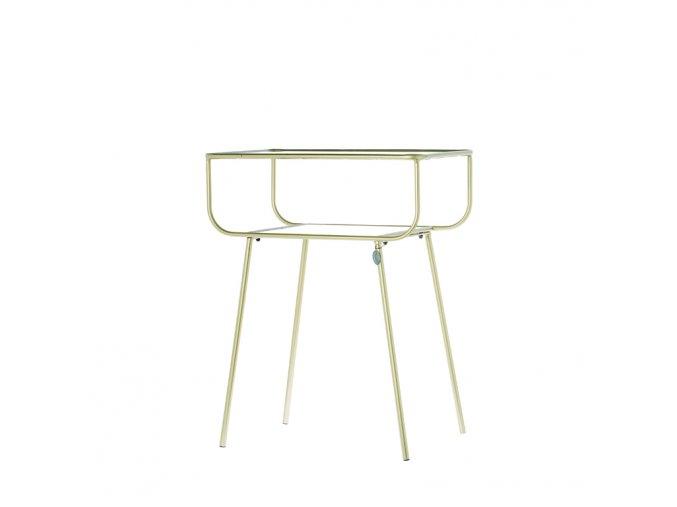 Odkládací stolek Amaro zlatý