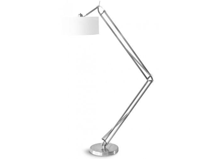 Stojací lampa Milano stříbrná L 4723