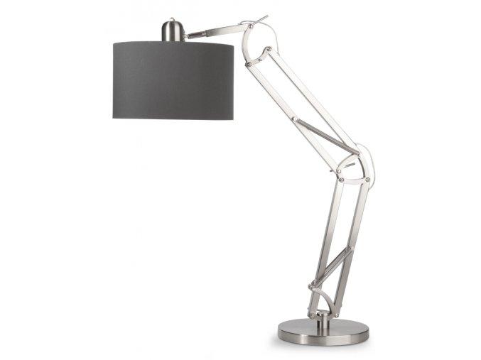 Stolní lampa Milano stříbrná