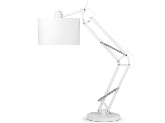Stolní lampa Milano bílá 3220