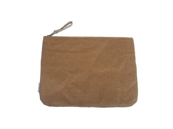 Obal na notebook hnědý (Essent´ial velikosti OBALŮ NA NOTEBOOK L 44 x 29,5 cm)