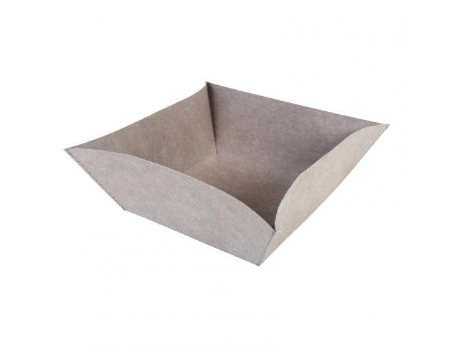 Essential Miska šedá (Essent´ial velikosti MISEK L 19x19x9,5 cm)