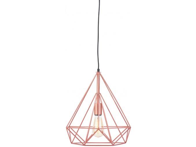Stropní lampa Antwerp měděná