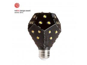 Nanoleaf Bloom Charcoal black 1200lm 10W stmívatelná běžným vypínačem
