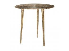 Odkládací stolek Phyllon zlatý