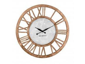 Dřevěné nástěnné hodiny Chuck