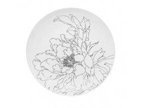 Sada 6 jídelních talířů Flower