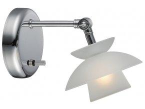 Nástěnná lampa Dallas bílá