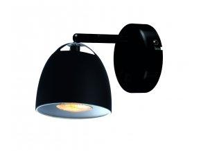 Nástěnná lampa Fjord černá