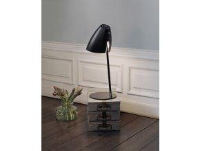 Stolní lampa Kick černá