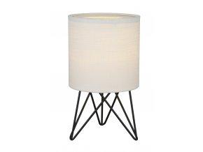 Stolní lampa Tower mini bílá, černá
