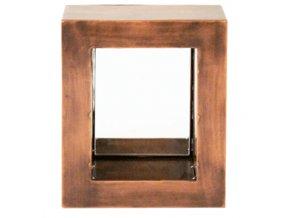 Dekorativní kovové zrcadlo - 2ks