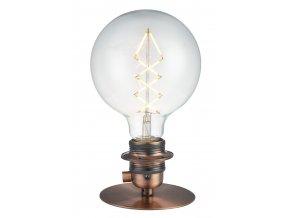 Stolní/nástěnná lampa Combi měděná