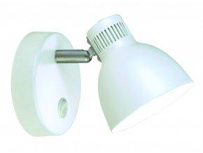 Nástěnná lampa Shadow bílá