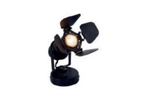 Stolní/nástěnná lampa Studio černá