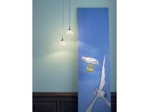 Sada stropních lamp ARC bílá
