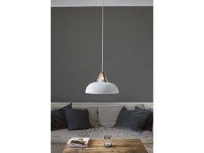 Stropní lampa Stavanger bílá