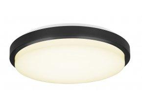 Stropní/nástěnná lampa Upscale bílá, černá