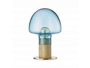 Stolní lampa Mush modrá