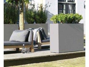 division fleurami betonový květináč - rozdělovač prostoru