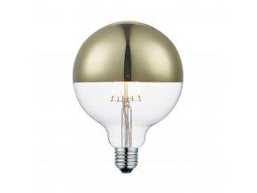 Stmívatelná žárovka Top De Luxe zlatá 12,5 cm